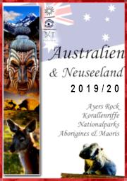 Australien Reise Katalog