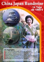 China-Japan-Reisebeschreibung