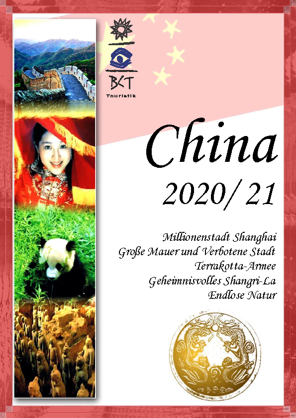 China Studienreisen Katalog