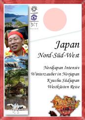 Katalogcover Japan Regionen Nord, Süd und West