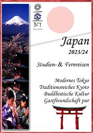 Katalogcover Japan Studienreisen