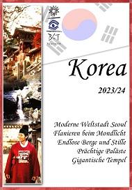 Katalogcover Korea Studienreisen