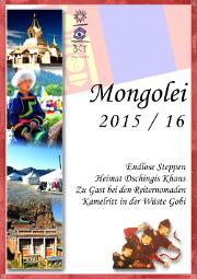 Mongolei Studienreisen Katalog
