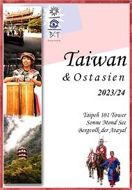 Katalog taiwan Reisen